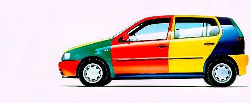 Múltiples colores para su carrocería